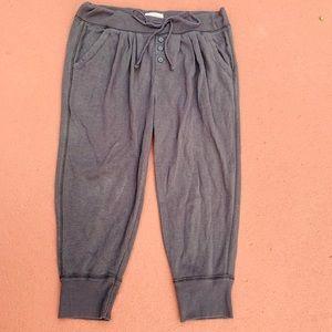Grey Aerie jogger style sweatpants